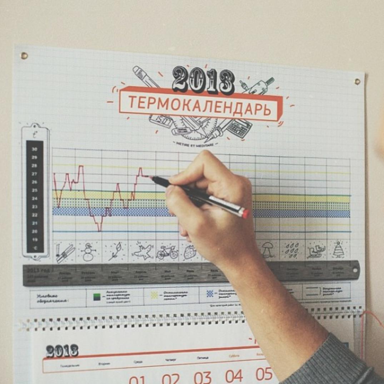 temperature-calendar