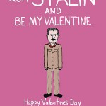 Картичка за Свети Валентин - Сталин