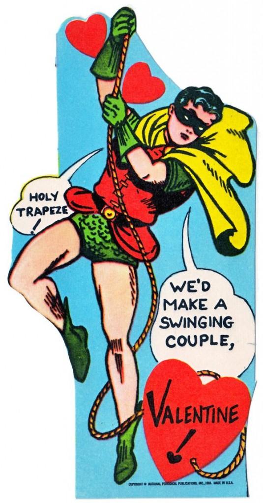 Картичка за Свети Валентин с Батман