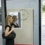 билборд реклама с огледало