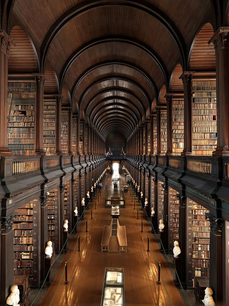 Trinity-College-Library-Dublin- Ireland