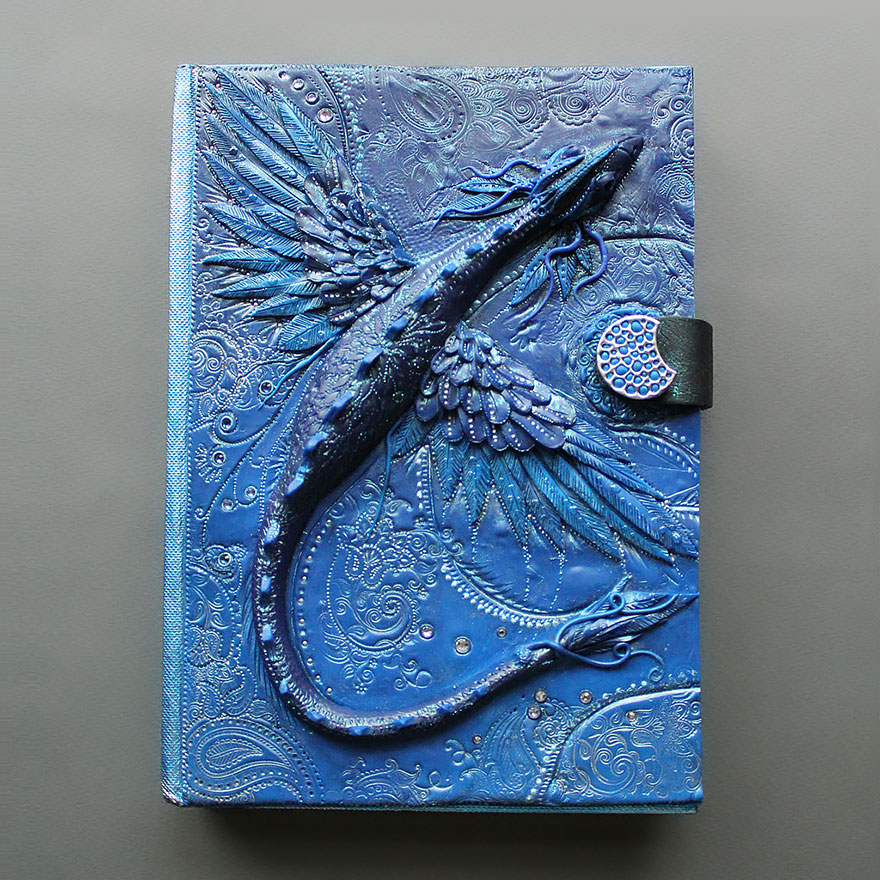 bluedragon-polymer-clay-book-covers-my-aniko-kolesnikova