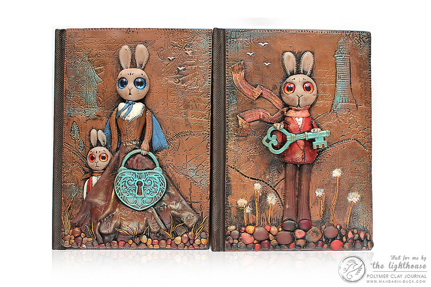 bunny-polymer-clay-book-covers-my-aniko-kolesnikova