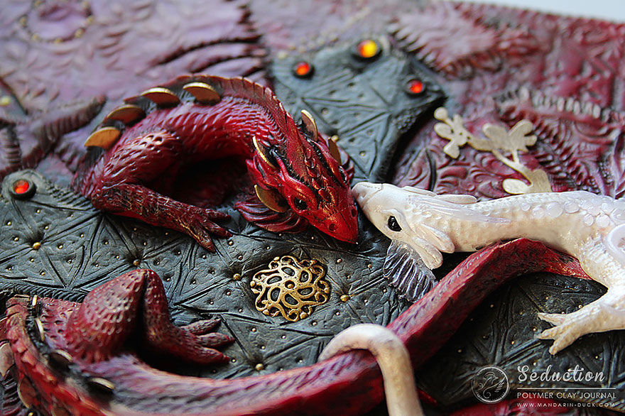 dragon-polymer-clay-book-covers-my-aniko-kolesnikova