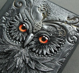 owl-polymer-clay-book-covers-my-aniko-kolesnikova