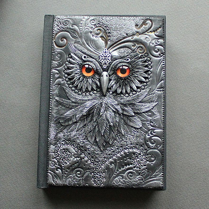 owl2-polymer-clay-book-covers-my-aniko-kolesnikova