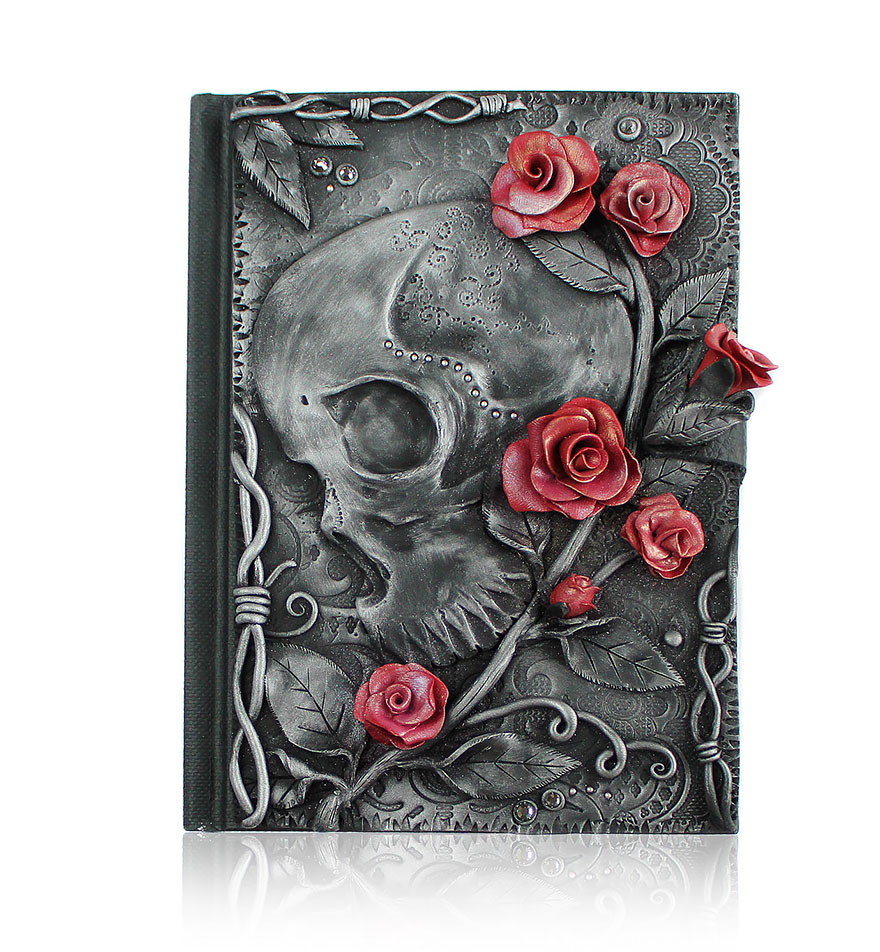 roses-polymer-clay-book-covers-my-aniko-kolesnikova