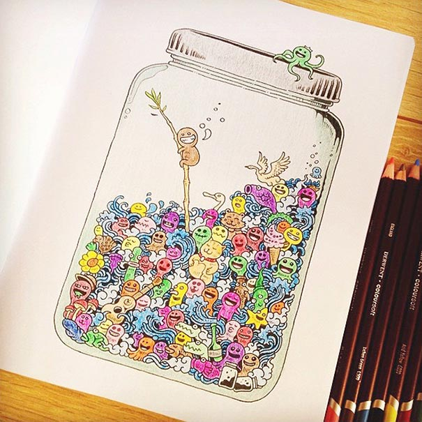 coloring-book-adult-doodle-invasion-kerby-rosanes-2