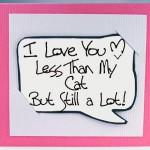 Забавна картичка за Свети Валентин